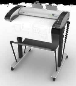 Широкоформатный сканер Contex IQ Quattro 2490